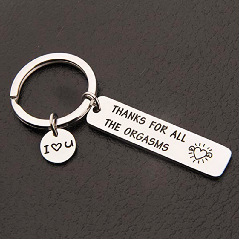 Gifts Give To My Boyfriend Husband Custom Keyring Key Ring Couple Keychain Party Favors 2020 New Gifts