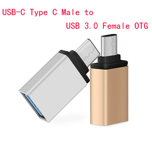 USB-C Type C Male To USB Adapter 3.0 Female OTG Data Sync Adapter For MacBook Pro Samsung Type-C Adapter