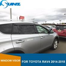 window visor for Toyota Rav4 2014-2018 side deflectors rain guards SUNZ