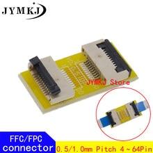 FPC FFC Cabo Plano Flexível Placa de Extensão 4 6 8 10 12 14 20 30 40 45 50 54 60PIN AWM 20624 20706 20861 105C 60V VW-1 Conector