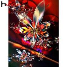 Huacan Diamond Painting Full Square Mandala 5D Diamond Embroidery Mosaic Kits Art Home Decoration