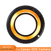 Camera Filter Adapter Ring for M42 Lens to Canon EOS EF 5D 6D 7D 80D 60D 50D 30D 1300D 1100D 1000D 700D 550D 500D 450D 400D 350D