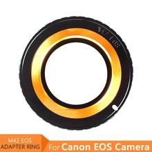 מצלמה מסנן מתאם טבעת עבור M42 עדשה כדי Canon EOS EF 5D 6D 7D 80D 60D 50D 30D 1300D 1100D 1000D 700D 550D 500D 450D 400D 350D
