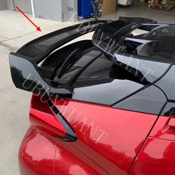 Rear Spoiler Trunk Lip Wing Cover For Toyota CHR 2018 Accessories ABS Exterior Car Tail Spoiler For Toyota C-HR 2017 2018 2019