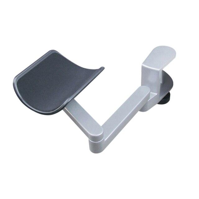 Neueste Ergonomische Computer Armlehne Metall Arm Unterstützung Einstellbare Arm Handgelenk Rest Unterstützung Hause Büro Maus Hand Halterung