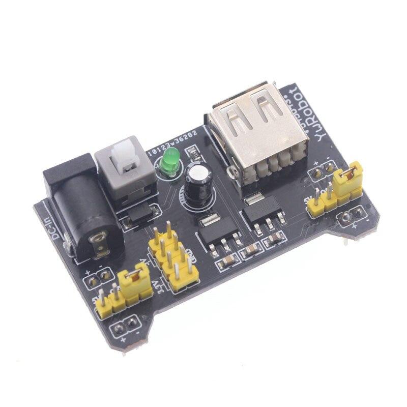 MB-102 Module 2 Channel Board MB102 DC 7-12V Micro USB Interface Breadboard Power Supply Module For Arduino Diy Kit