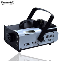 High Quality 900W RGB LED Fog Stage Effect Smoke Machine Remote Control Smoke Machine Disco Stage Lighting Fog DJEquipment