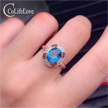 Colife ювелирное изделие модное серебряное кольцо с драгоценными
