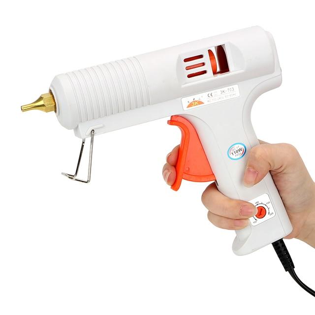 NICEYARD 핫멜트 접착제 총 온도 조절 가열 총구 직경 11mm 일정한 온도 공예 수리 도구