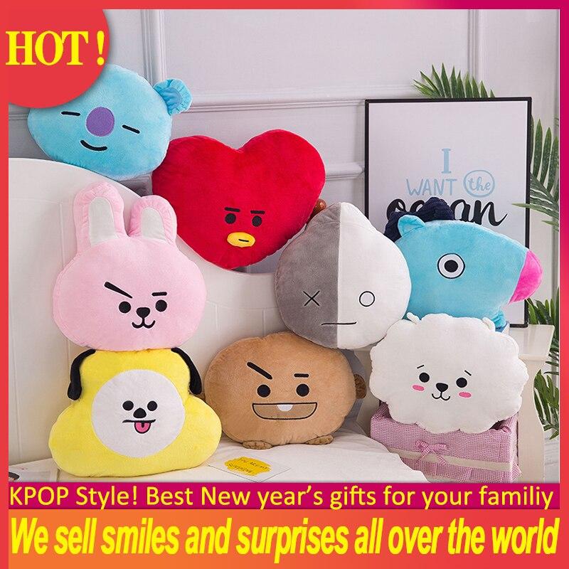 HOT ! 8 Colors Kids Kawaii Stuffed Toys For Children Cute Creative Pillow Cushion Plush Toy Doll Home Decor Pillow Sofa Cushion