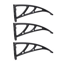 3 Pcs Outdoor Balcony Awning Support Rain Cover Bracket Sturdy Awning Holder