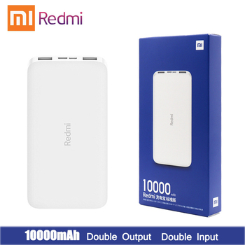 Newest Xiaomi Redmi Original Power Bank Quick Charge 10000mAh Powerbank Fast Charging Portable Charger image