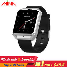 H5 4G smart watch mannen Android ios telefoon MTK6737 Quad Core 1G RAM 8G ROM GPS WiFi Hart rate smartwatch(China)