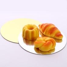 18 шт./компл. 6,8, 10 дюймов 6 шт. каждого размера, круглая форма для выпечки пластины подставка для торта коврик круг выпечки базы круглый коврик инструментов для приготовления тортов