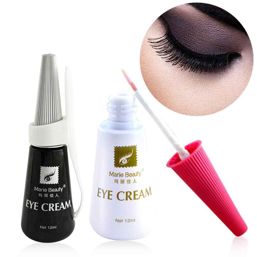 12ml silne jasne fałszywy klej do rzęs rzęs rozszerzenie szczepienia klej taśma wodoodporna Eye Lash klej klej rzęsy makijaż narzędzie