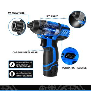 Image 3 - 100NM Electric Screwdriver 12V Cordless Drill/Driver Screw Lithium Battery Rechargeable Hexagon Power Tools by PROSTORMER