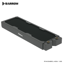 Copper Radiator Barrow 120mm Fan 360MM Heatsink Computer-Triple Dabel-40a 12cm-Series
