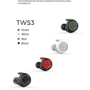 Image 3 - EDIFIER TWS3 TWS gerçek kablosuz Bluetooth V4.2 kulak içi kulaklık ile şarj kutusu ve çıkarılabilir kulak kanatları çok fonksiyonlu düğme