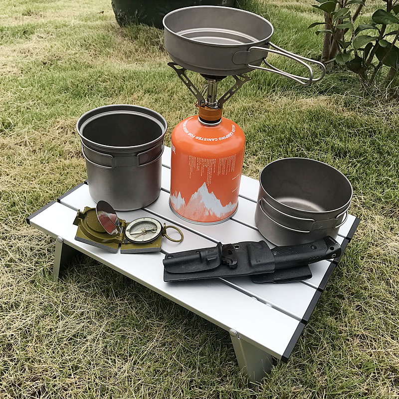 Desk Folding-Table Picnic Outdoor Camping 7075 Ultra-Light Aluminium-Alloy Hot-Sale