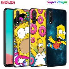Black Silicone Cover Fashion Simpsons for Huawei Nova 5 3i P Smart Z Plus 2019 P30 P20 Pro P10 P9 Lite Plus Phone Case spider man for case huawei nova 3 3i p30 lite cover for huawei p30 p20 lite pro p smart 2019 p10 p9 lite case for huawei p30 pro