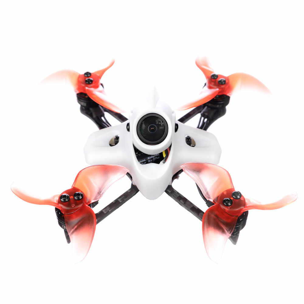 16pcs EMAX Avan TH Turtlemode Propeller 40mm 4-Blade Props 1.5mm Hole for EMAX Tinyhawk S Tinyhawk 2 and Other 1-2S Brushless Micro Indoor Racing Drone Whoop 0802 Motor Red and Black