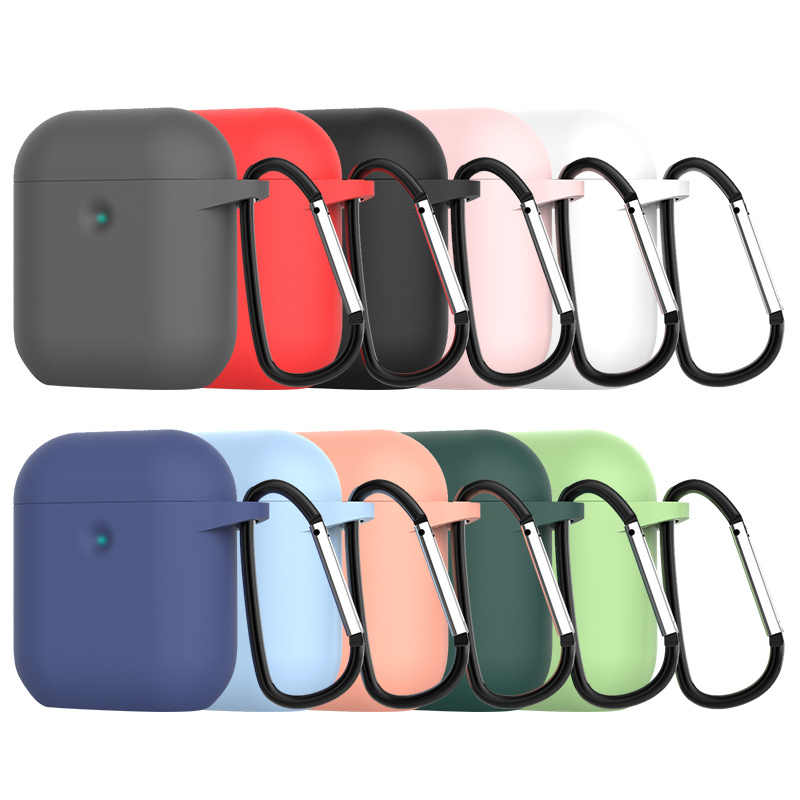 TPU Fiber Style Earphone Case for Airpods 1 2 Case Business Soft TPU Full Protective Case for Airpods 2 Cover Soft Case