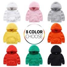 Toddler Sweatshirt Hooded Kids Clothes Girls Black Yellow Outerwear Children White Red