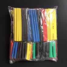 328 pçs termoresistant tubo termoresistant termoretractil kit de envolvimento do psiquiatra do calor que encolhe a tubulação sortidas sleeving da isolação do cabo de fio