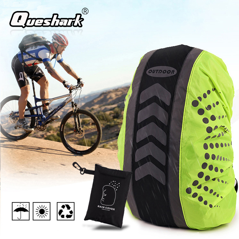 20-55L New Reflective Backpack Cover Outdoor Cycling Sports Bag Rainproof Cover