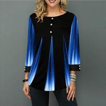 Shirt Women Spring Autumn O-neck Blouse