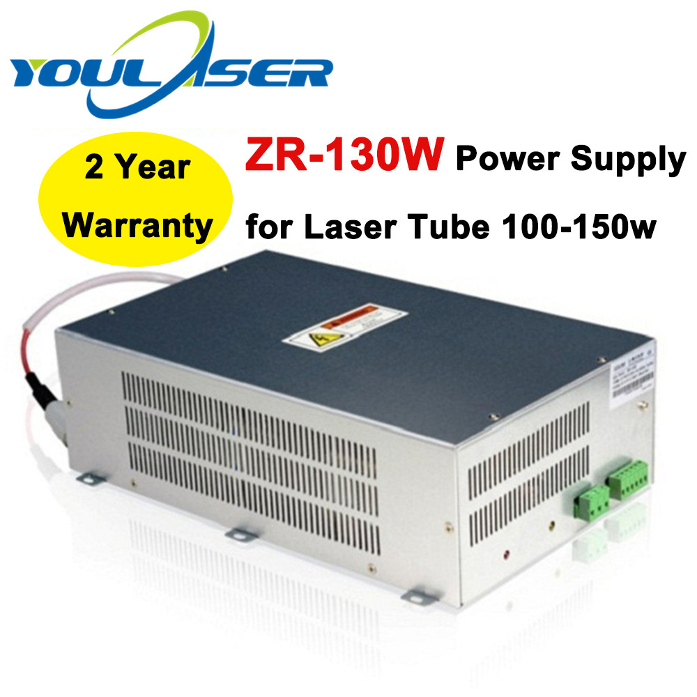 ZR-130W 130w Laser Power Supply For 100W - 150W Co2 Glass Laser Tube Engraving And Cutting Machine