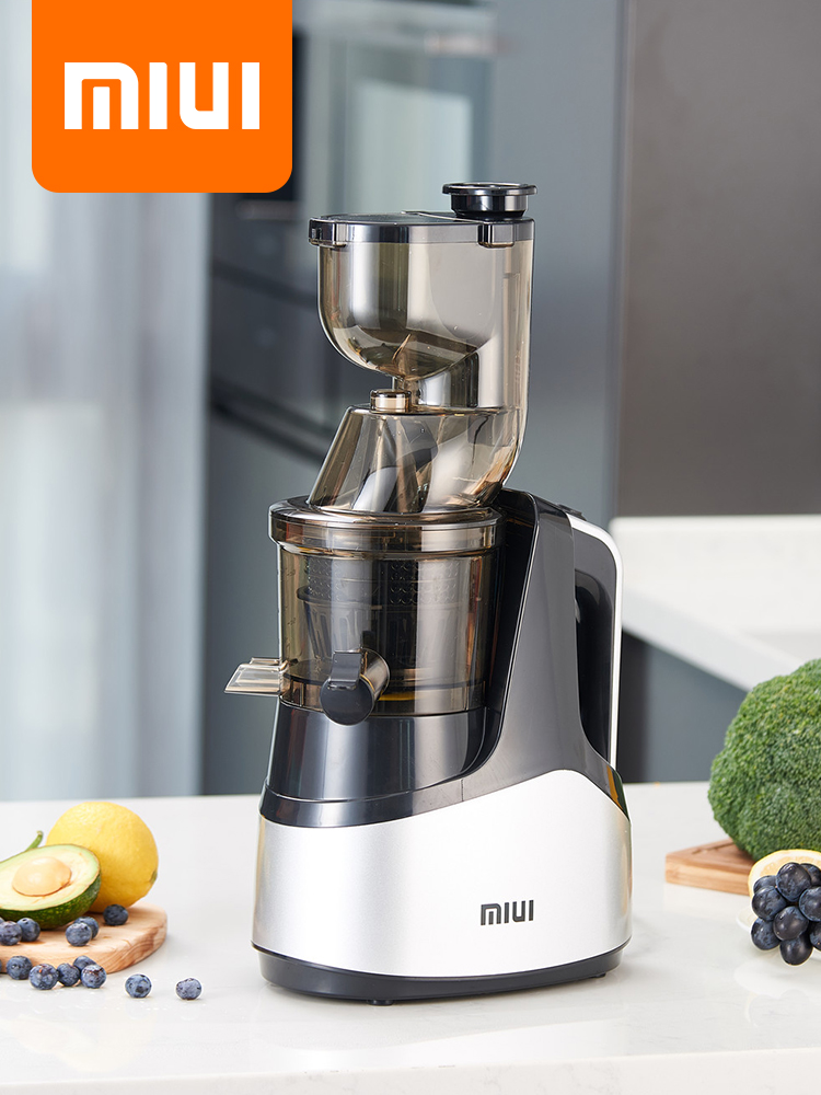 Electric-Fruit-Juicer-Machine Cold-Press-Extractor Slow-Juicer Easy-Wash 7LV FILTERFREE