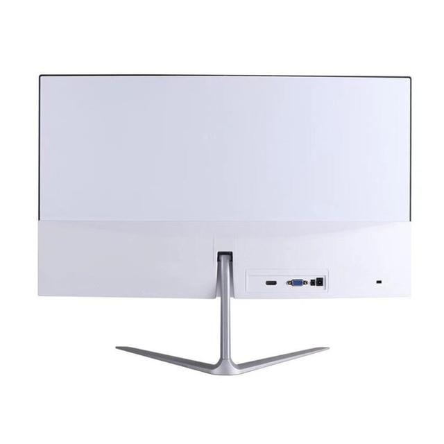 HUGON 24 Inch 1920×1080p TFT/LCD PC 75Hz HD Curved Gaming Monitor Display Desktop Screen VGA For HDMI Interface 2