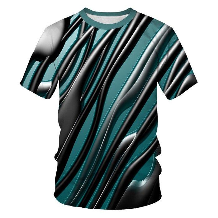Мужская футболка с 3D принтом, новинка, брендовая футболка с коротким рукавом, Мужская забавная футболка в стиле Харадзюку, облегающая футболка в стиле хип-хоп, уличная футболка, Homme - Цвет: NT-090