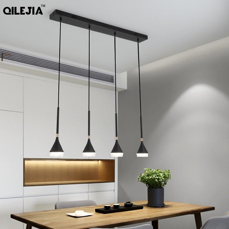 Restaurant Pendant Lights 4/6 Heads Modern Minimalist Warm Romantic Personality Bar Table Lamp Wine Pendant Light