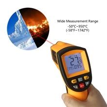 GM900 KT900 Ir Infrarood Thermometer Digitale Temperatuur Meter  50 ~ 950C  58 ~ 1742F Pyrometer Celsius Termometro Infravermelho