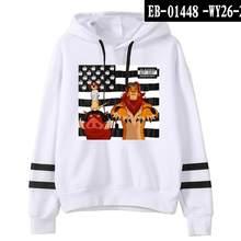 2020 Hakuna Matata Hoodie Double Pole Style Lion King Printed Hoodies Men and Women Aesthetic Oversized Sweatshirts For Teens