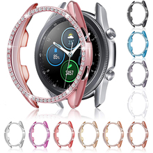 Bling Case for Samsung Galaxy Watch 3 41MM & 45MM Smart Watch Women Girl Jewelry Crystal Diamond Bumper Protector Cover