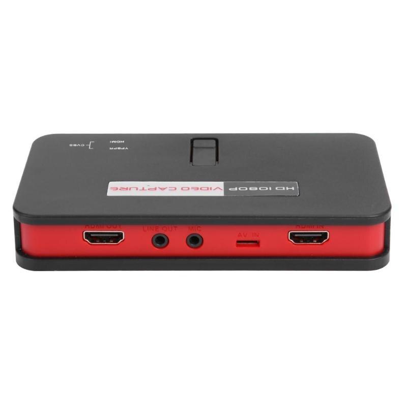 1080P HDMI jeu HD vidéo Capture Box Grabber pour XBOX PS3 PS4 TV médical en ligne vidéo en direct Streaming vidéo enregistreur