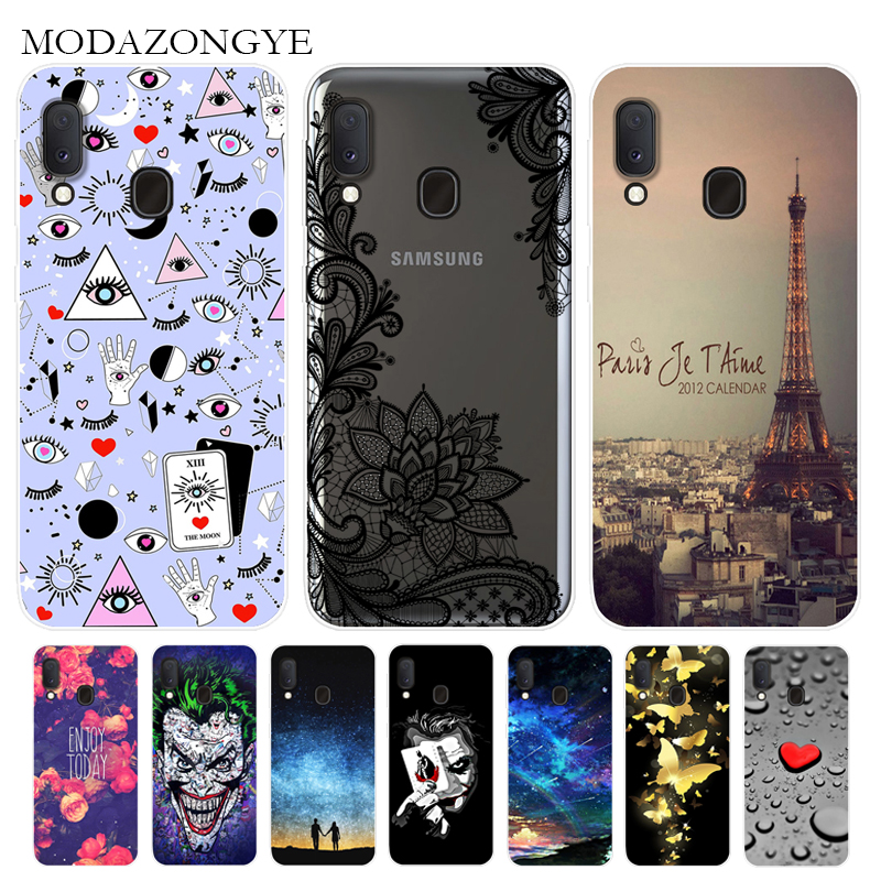 For <font><b>Samsung</b></font> <font><b>Galaxy</b></font> <font><b>A20e</b></font> Case Soft Silicone Cartoon Back Cover Phone Case For <font><b>Samsung</b></font> <font><b>Galaxy</b></font> <font><b>A20e</b></font> A 20e GalaxyA20e <font><b>SM</b></font>-<font><b>A202F</b></font> <font><b>A202F</b></font> image