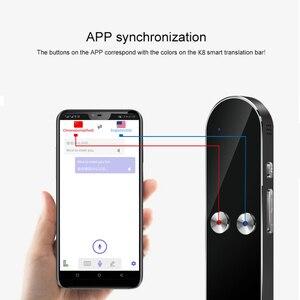 Image 3 - Smart Portable Instant Voice Translator Support 68 Countries Language Three way Translation Multi Language Translator Voice