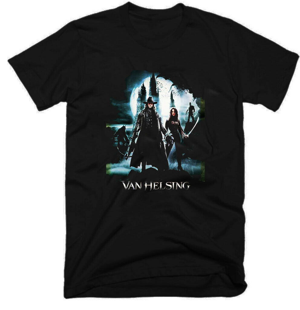 Van Helsing Fantasy Action Old Movie 2004 Sizes S 5Xl Mens T Shirt G0633 image