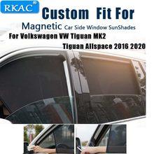 Manyetik araba güneş gölge araba perde araba yan pencere güneşlik kalkanı güneşlik Volkswagen VW Tiguan MK2 Tiguan Allspace
