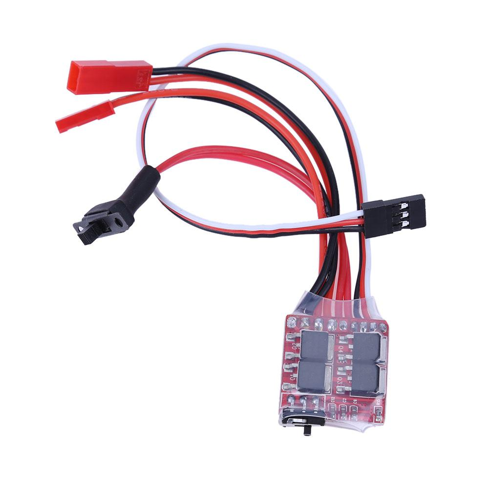 RC 20A Electric Car Boat Accessories Brake ESC Brush Electric Speed Control Two-way Brushed ESC Motor Speed Controllerl Creative