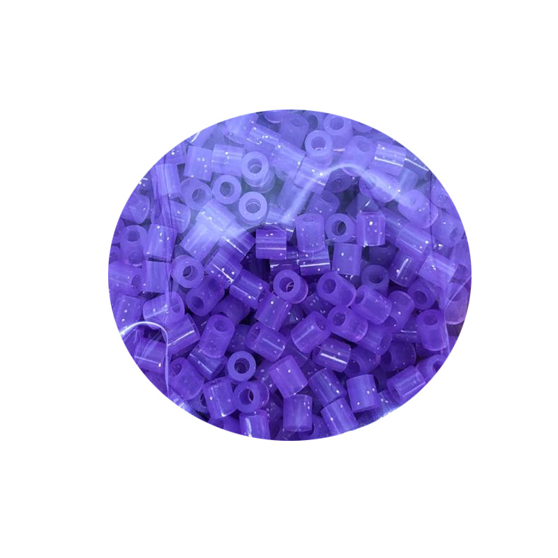 JINLETONG 1000Pcs Glitter Hama Beads 5mm DIY 3d puzzle Glitter hama fuse beads toys for children Puzzles fuse beads toys 9colors 5