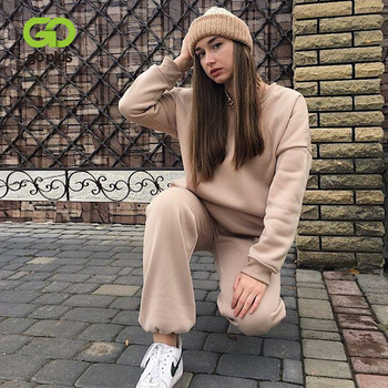 Women's Tracksuit Suit Sets Casual Plus Size Pullovers Pants Two Piece Set Women Sportswear Clothing Chandal Mujer Invierno 2021 1