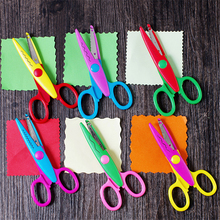Scissors Metal Stationery Scrapbooking Plastic Lace Diy And 1pcs 6-Patterns Diary Photo-Colors