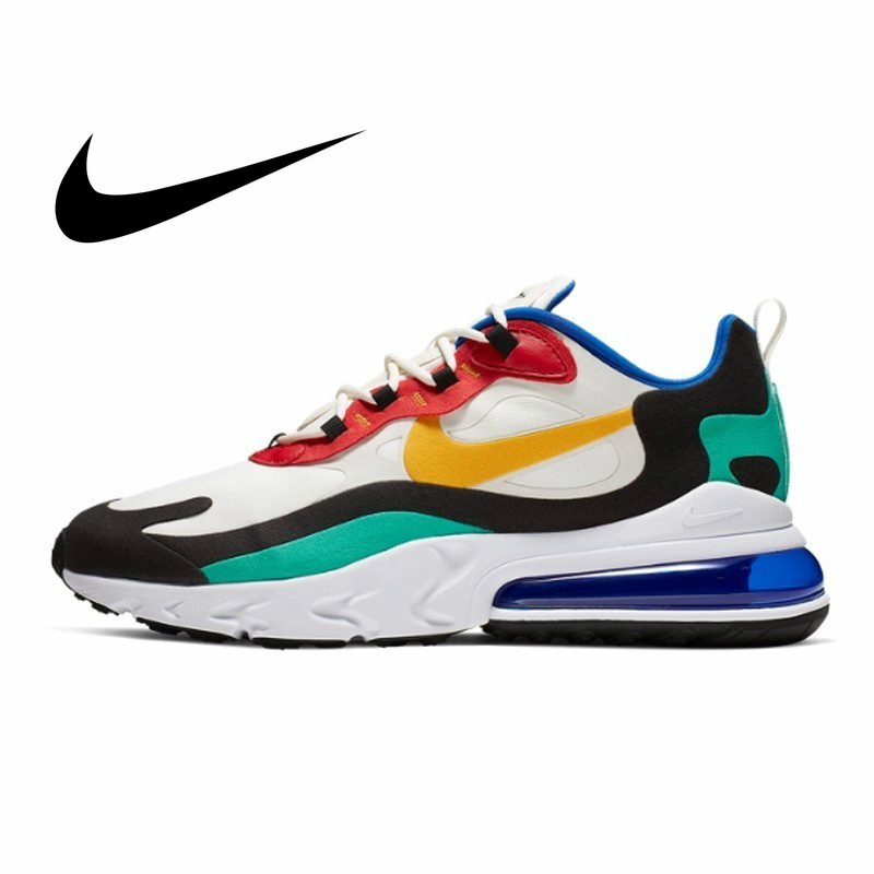 Nike Air Max 270 React New Arrival Men Running Shoes Air Cushion Outdoor Sports Sneakers AO4971