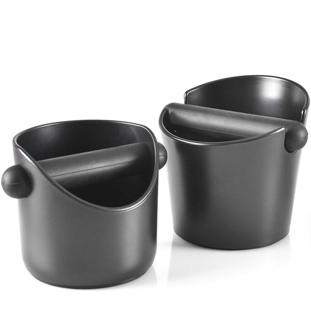 Stainless Steel Coffee Knock Box Espresso Grounds Waste Bucket Container Durable coffee grind trash bin|Coffee Filters| |  - title=