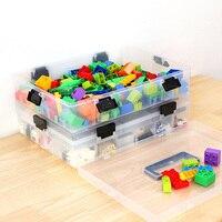 Multi-Layer Building Blocks Lego Large Capacity Storage Case  1